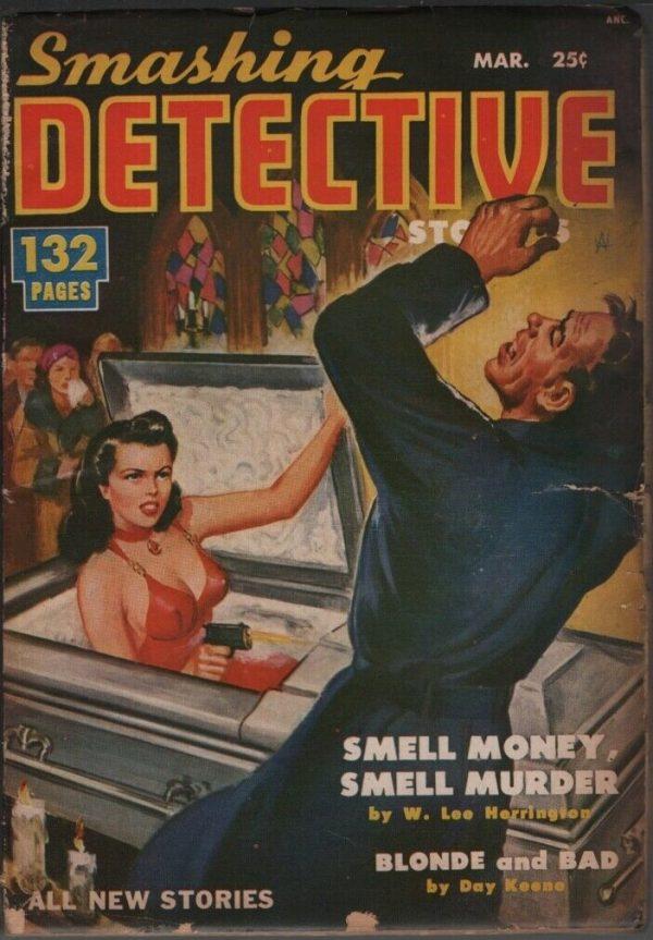 Smashing Detective 1951 March