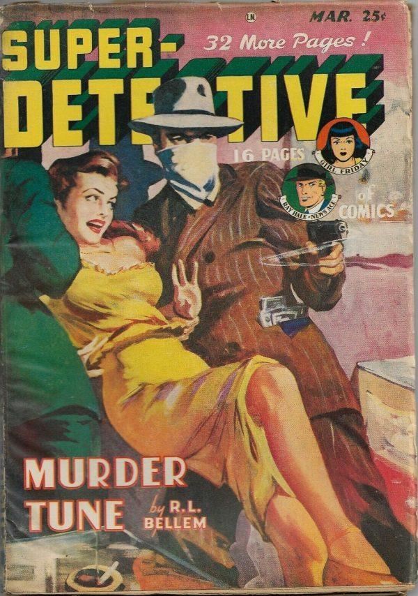 Super Detective Magazine March 1949