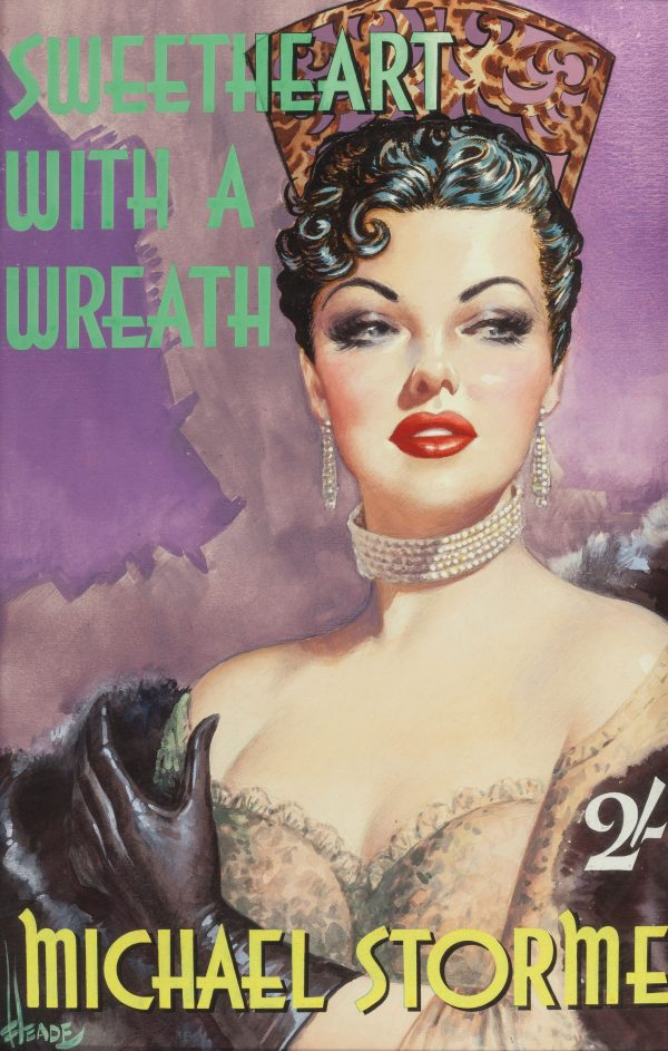 Sweetheart With a Wreath, paperback cover, 1953