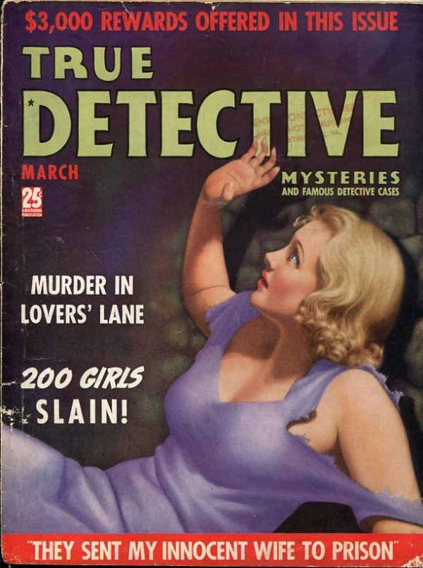True Detective Mysteries March 1938