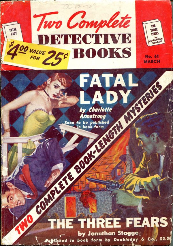 Two Complete Detective Books March 1950