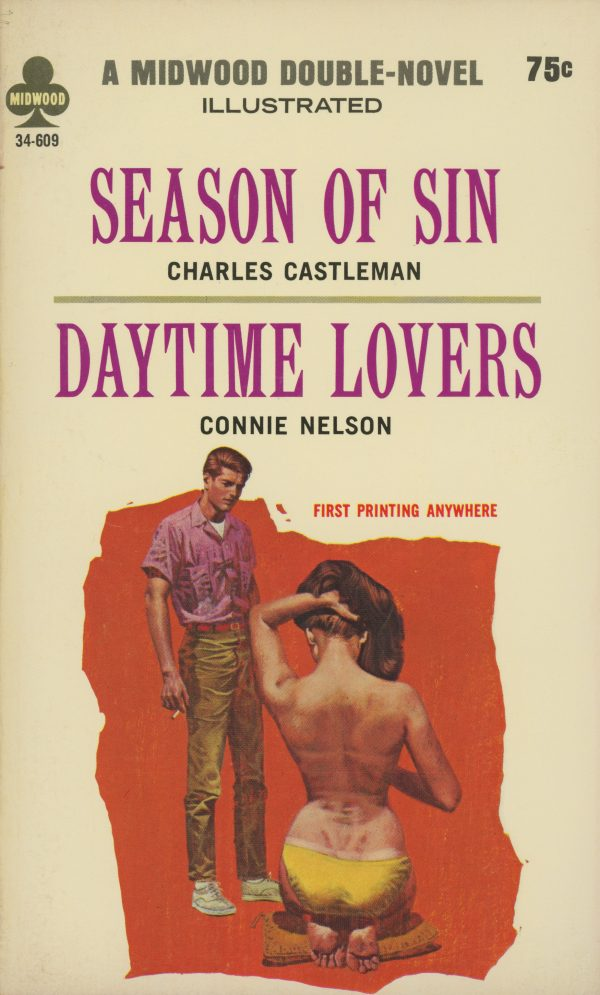 51039673021-midwood-books-34-609-charles-castleman-season-of-sin-connie-nelson-daytime-lovers
