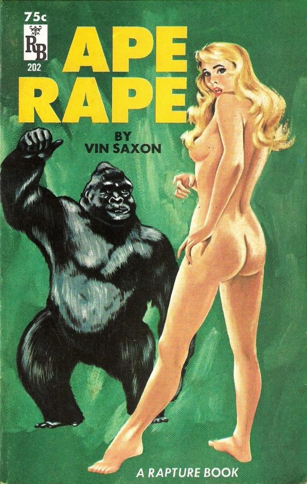 Ape Rape - Rapture Book RB 202 1964