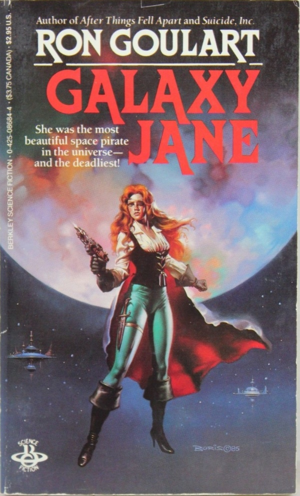 Galaxy Jane - Berkley, 1986