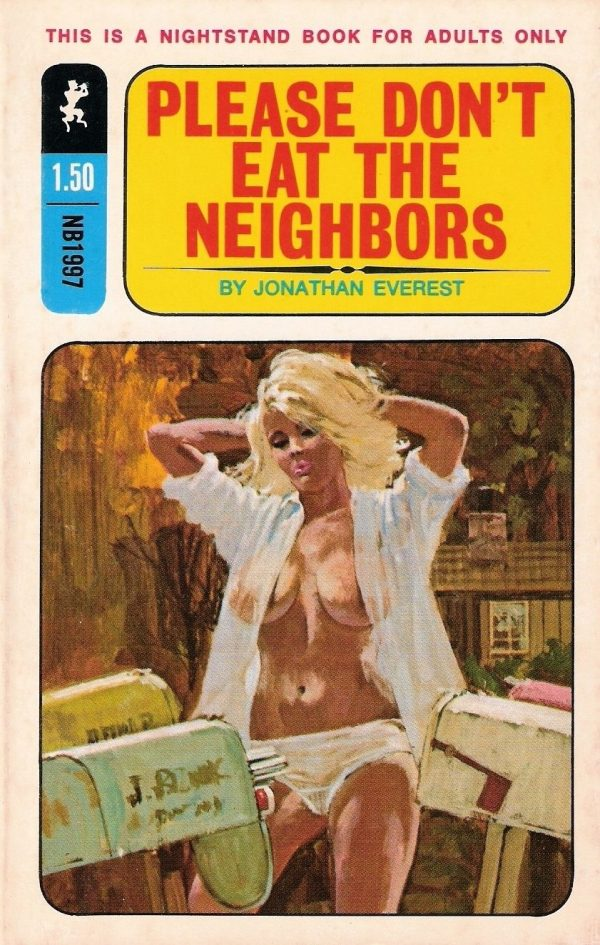 Greenleaf Classics Nightstand Books NB1997 - Please Don't Eat the Neighbors (1970)