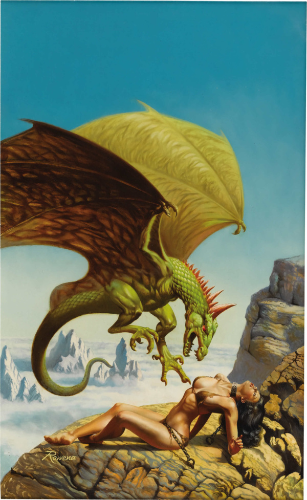 King Dragon Paperback Cover (Ace Books, 1980)