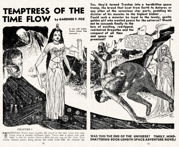 MSS v03n01 - 072-073 Temptress of the Time Flow - (illo.) Frank R. Paul