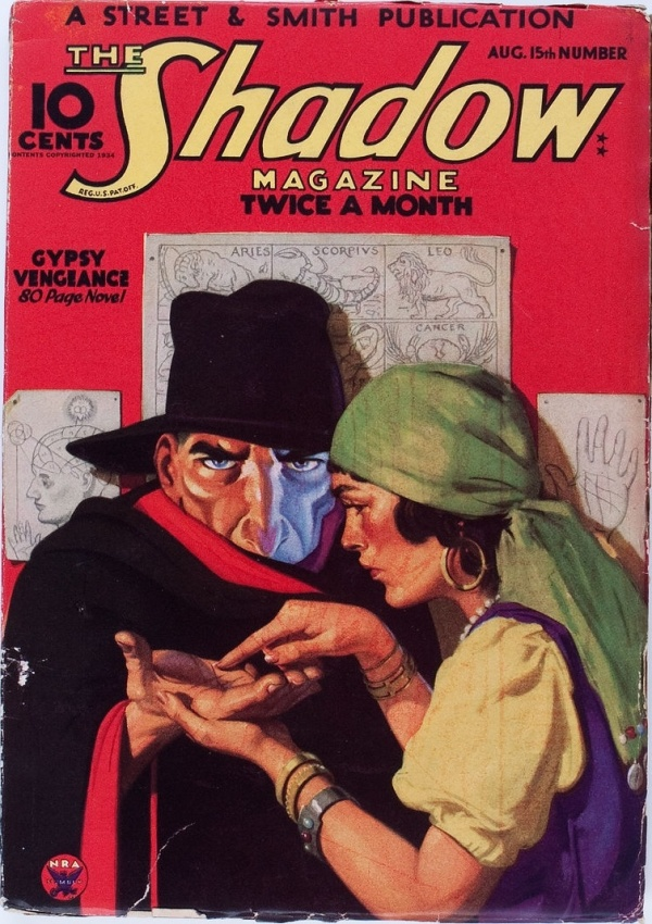 Shadow V11#1 August 1934