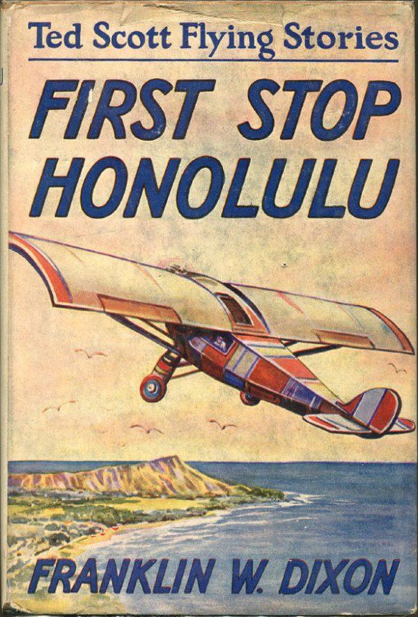 Ted Scott Flying Stories #4 1927