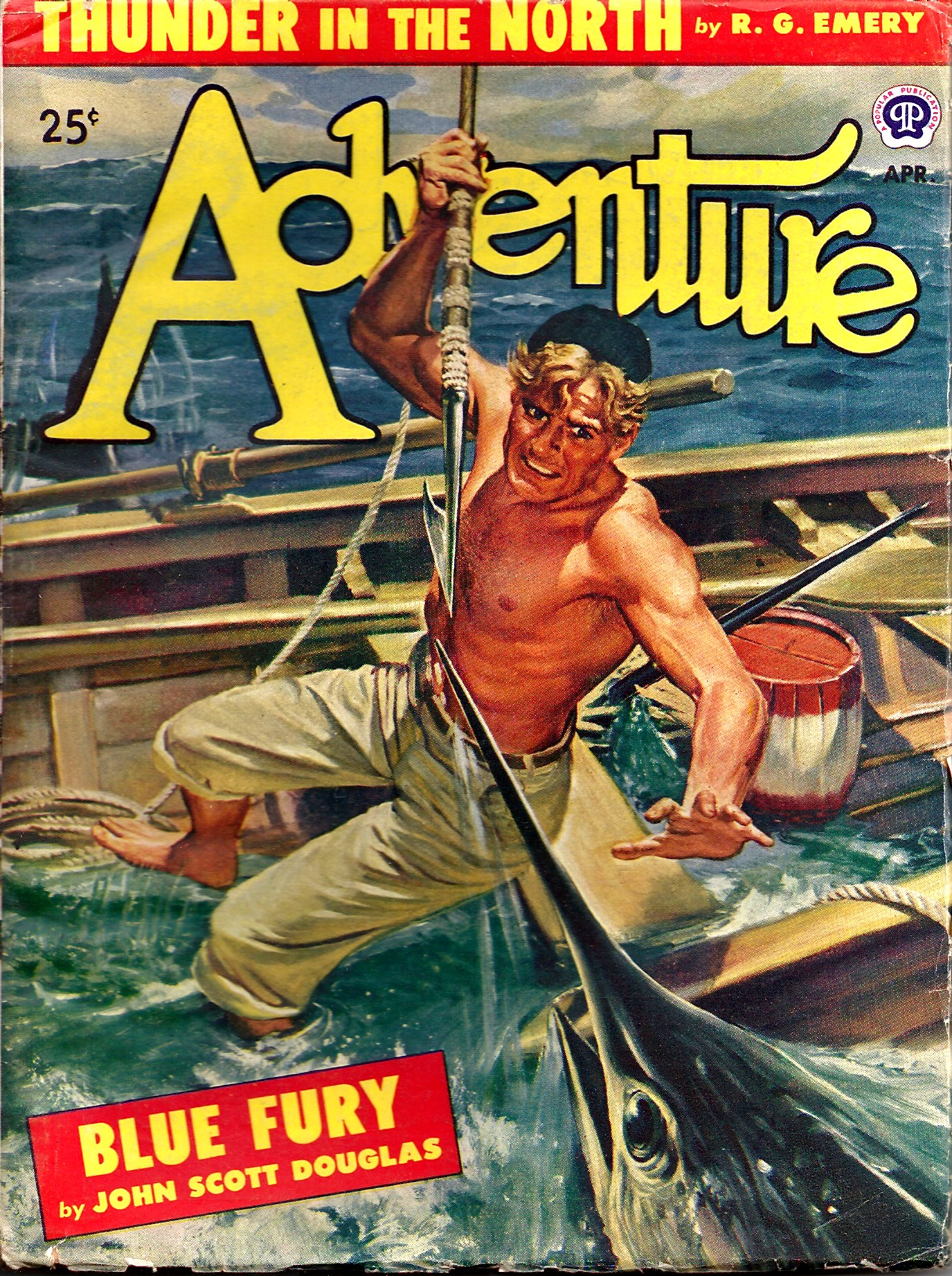Pulp Magazine: ADVENTURE September 8, 1926.