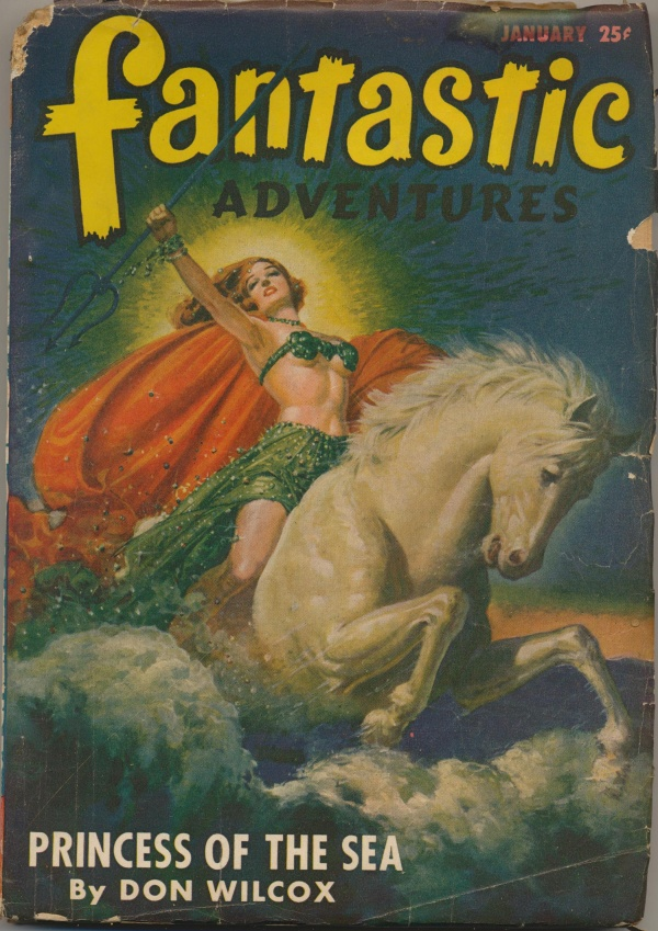 Fantastic Adventures, January 1947