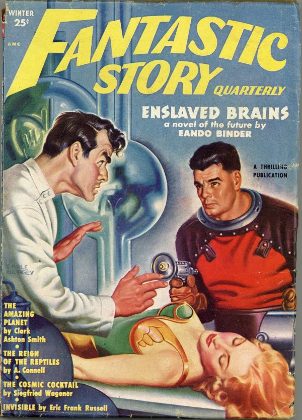 Fantastic Story Magazine January 1951