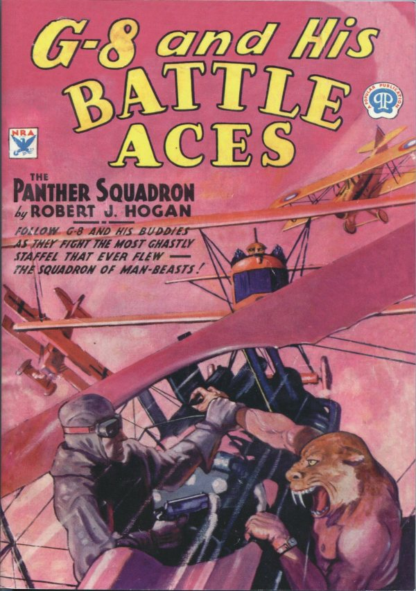 G-8 and His Battle Aces September 1945