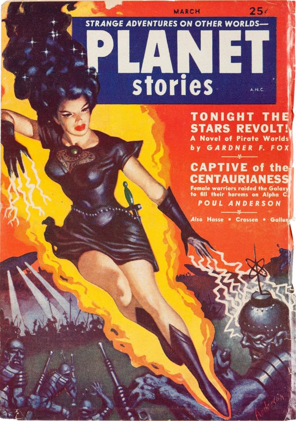 Planet Stories 1952