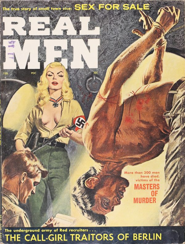 Real Men Magazine February 1961