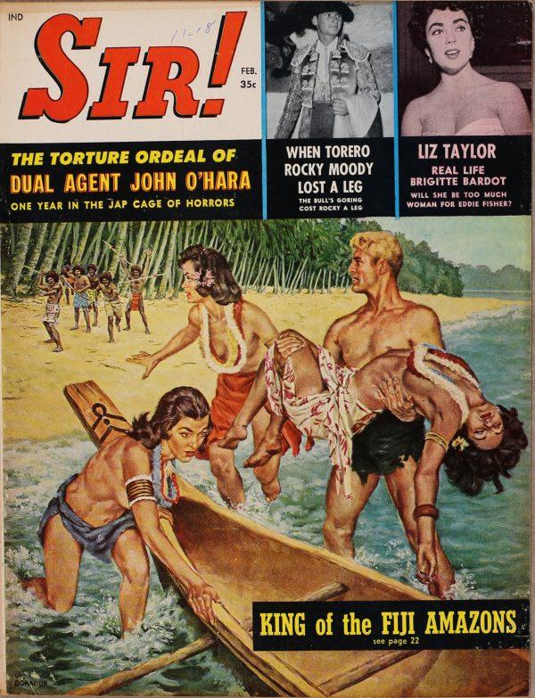 Sir! Magazine February 1959