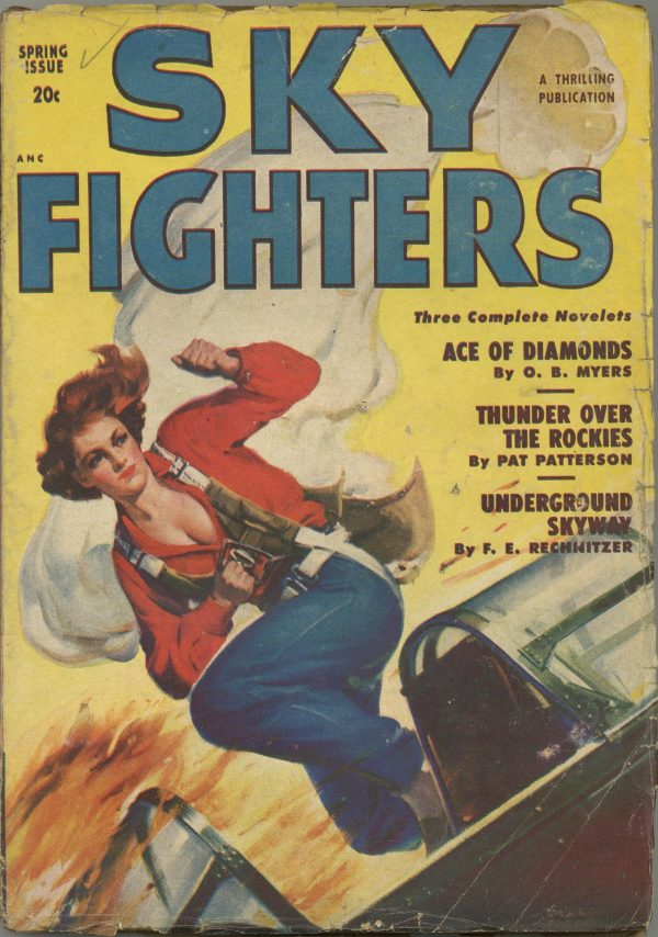 Sky Fighters Pulp March 1950