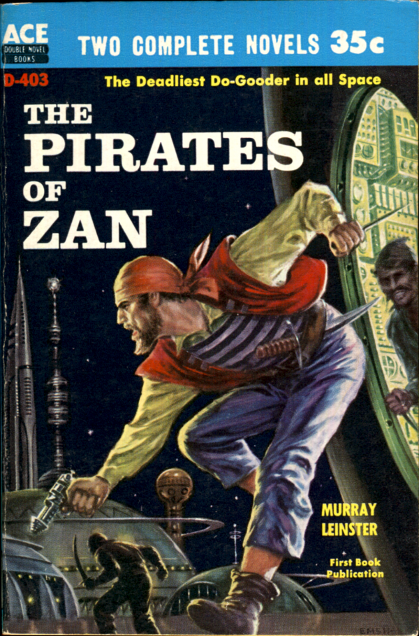 51524970022-Murray Leinster, The Pirates of Zan. Ace Books, 1959