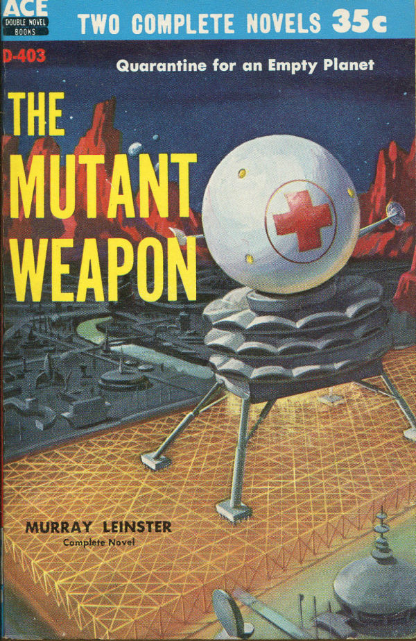 Ace Double SF PB-1959 Mutant Weapon