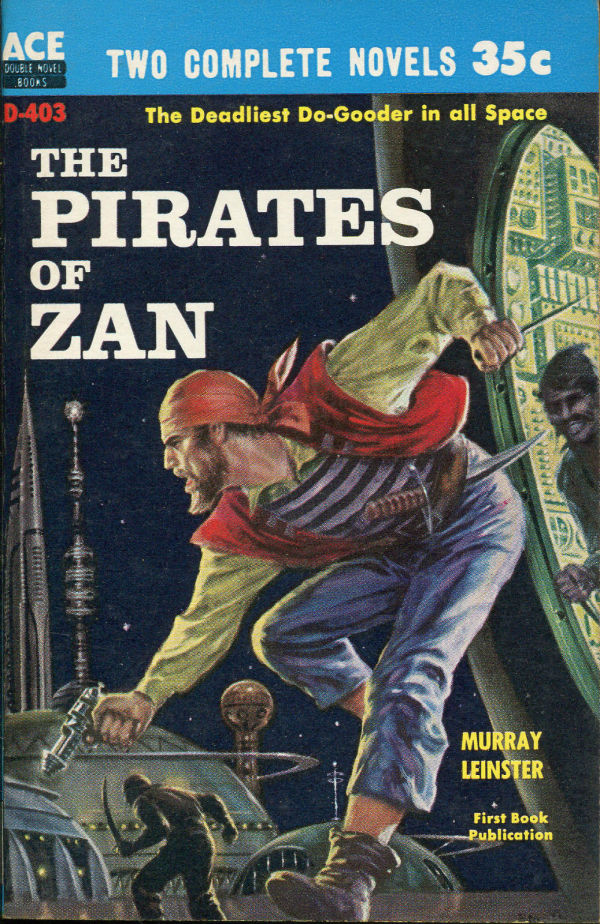 Ace Double SF PB-1959 Pirates of Zan