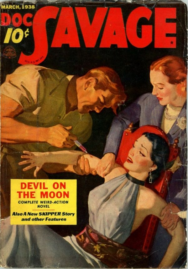 Doc Savage, March 1938