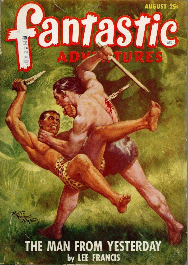Fantastic Adventures August 1948