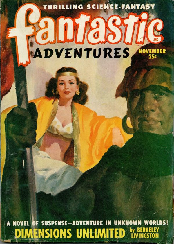 Fantastic Adventures November 1948