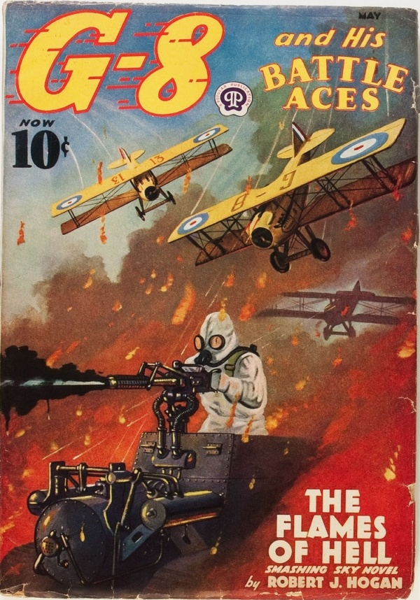 G-8 and His Battle Aces - May 1938