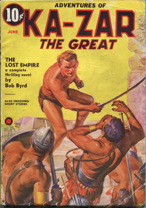 Ka-zar The Great June 1937