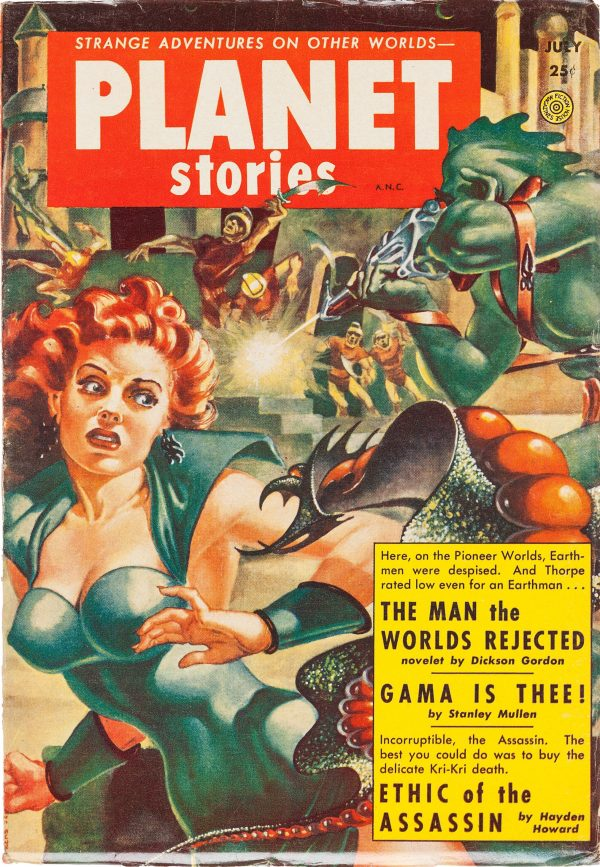 Planet Stories, July 1953