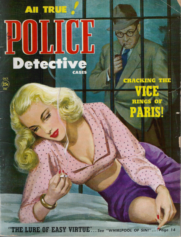 Police Detective October 1950