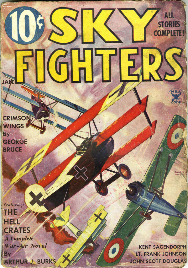 Sky Fighters January 1935