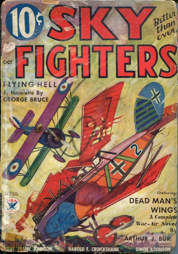 Sky Fighters October 1934