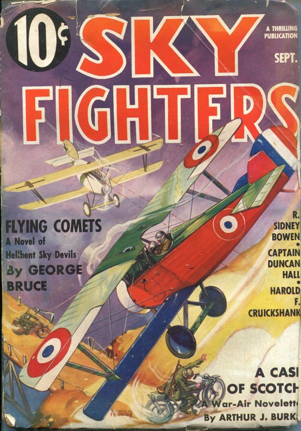 Sky Fighters September 1936