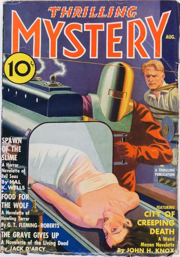 Thrilling Mystery - August 1936