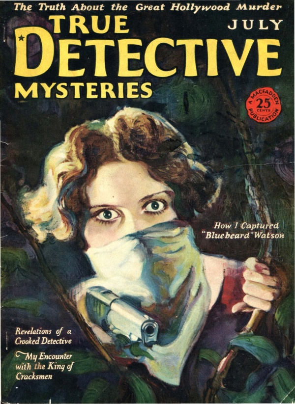 True Detective Mysteries, July 1926