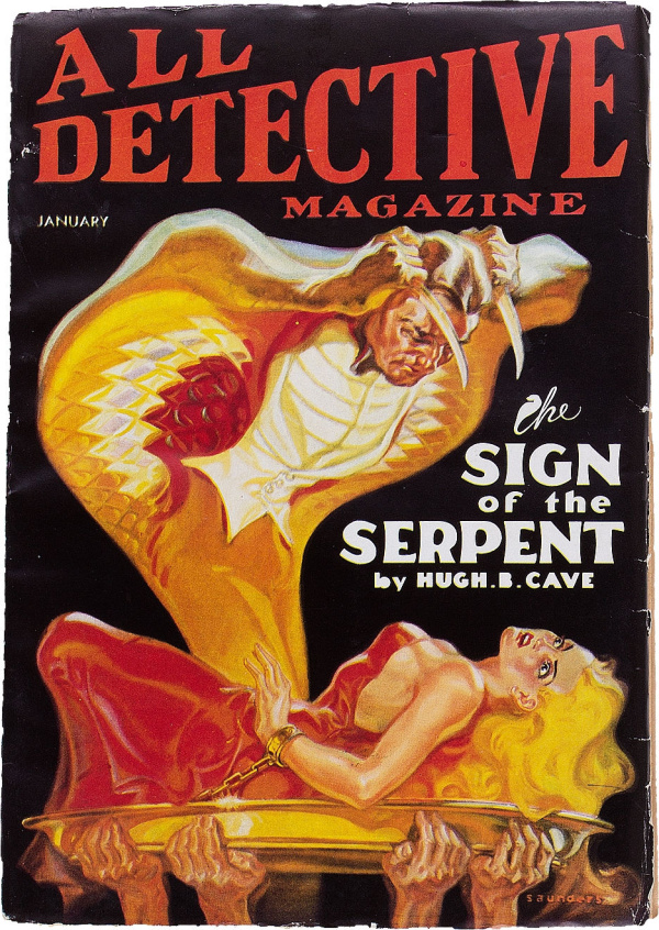 All Detective Magazine - January 1935