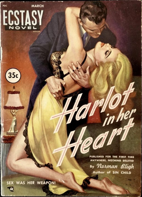 Ecstasy Novel March 1950
