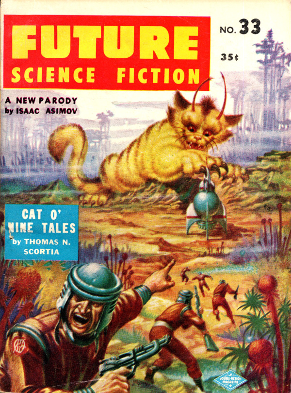 Future Science Fiction #33 (1957-Summer)