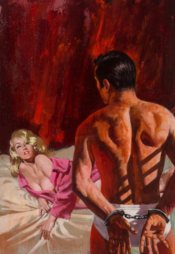 Passion's Captive paperback cover, 1966