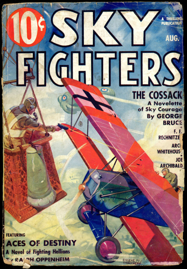SKY FIGHTERS. August 1936