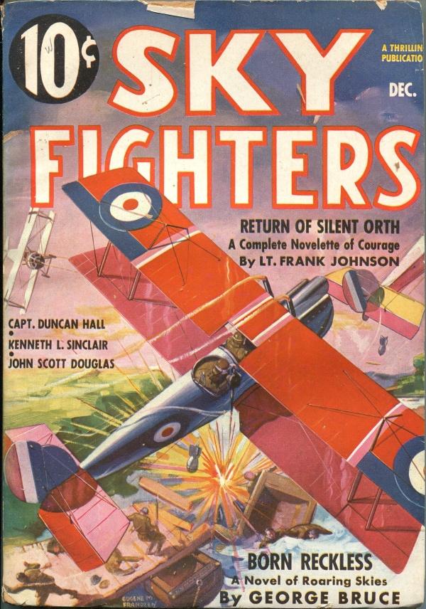 Sky Fighter December 1936