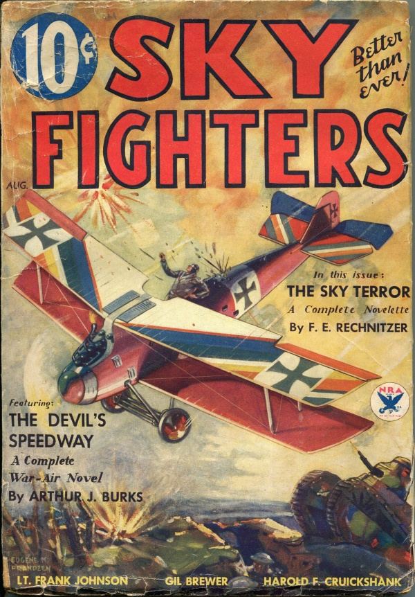 Sky Fighters April 1934