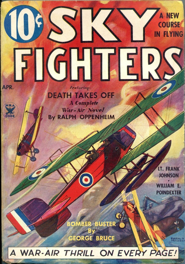 Sky Fighters April 1935
