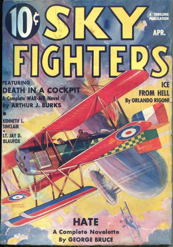 Sky Fighters April 1936