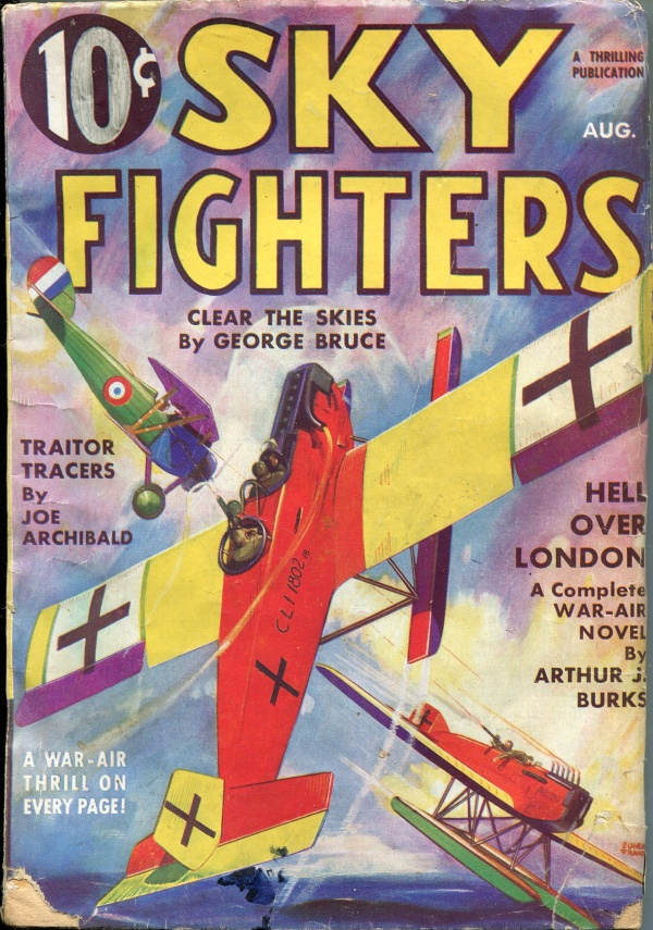 Sky Fighters August 1935
