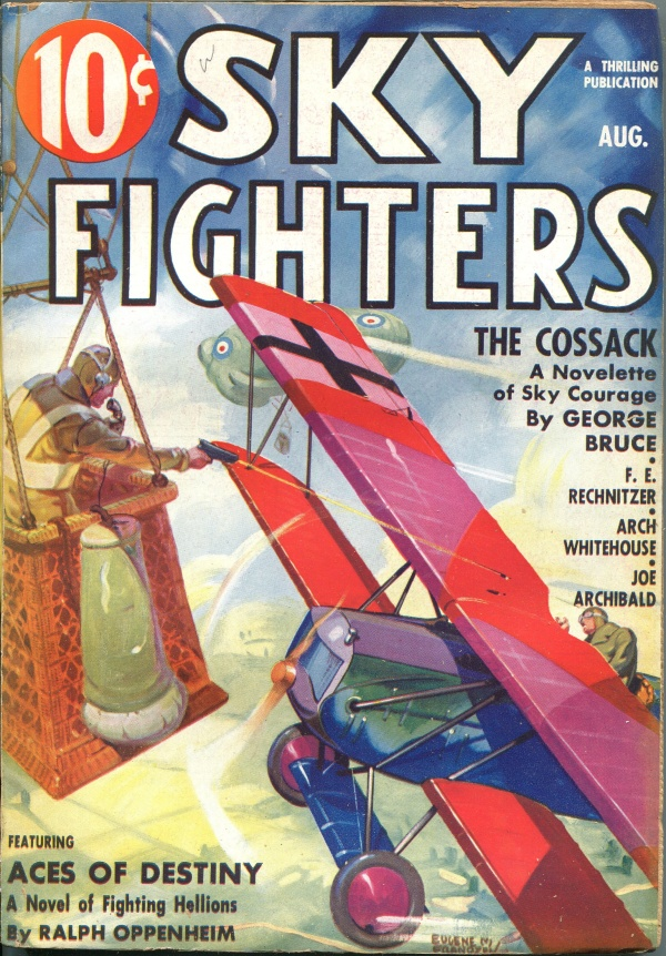 Sky Fighters August 1936