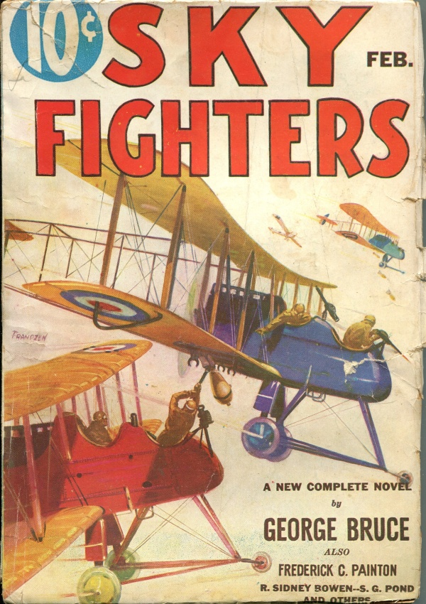 Sky Fighters February 1933
