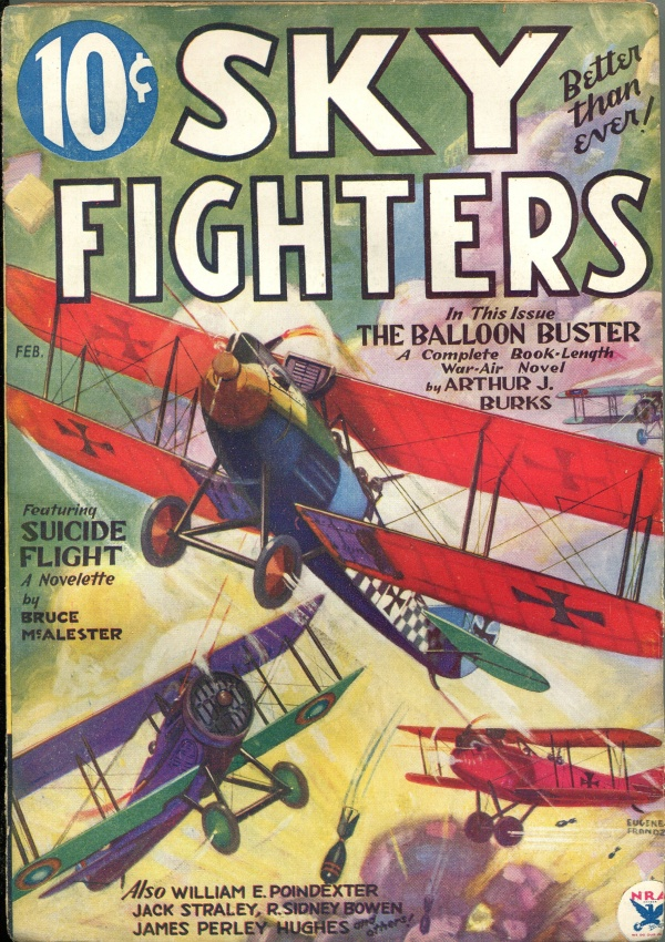Sky Fighters February 1934