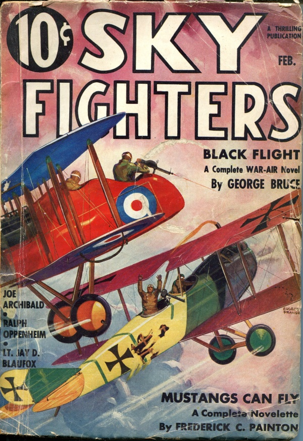 Sky Fighters February 1936